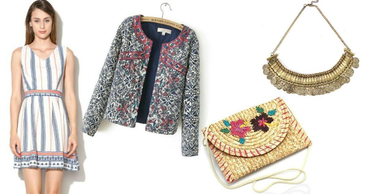 Cele mai frumoase articole vestimentare cu imprimeuri traditionale, la preturi irezistibile!