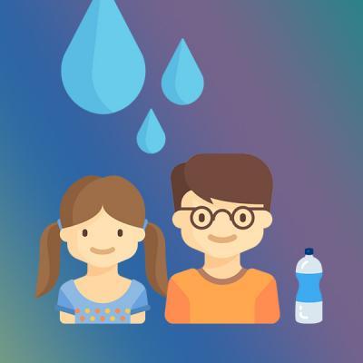 Infografic: Totul despre hidratarea corectă a copiilor