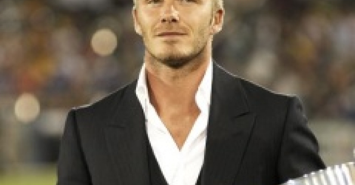 David Beckham renunta la haine pentru Victoria