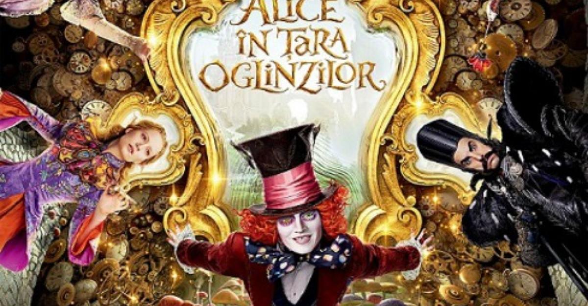 Alice In Tara Oglinzilor, o ecranizare de zile mare, un efort de productie supraomenesc
