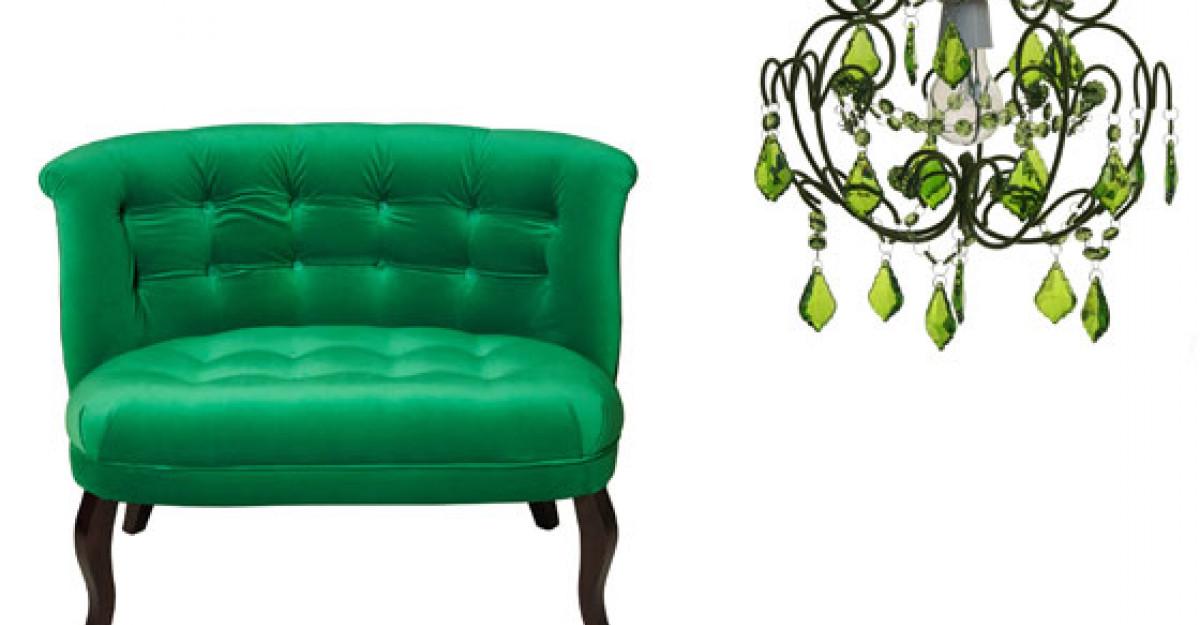 Tendinte: Cum sa folosesti culoarea anului, verdele smarald