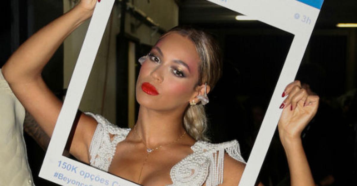Video de senzatie: Beyonce s-a filmat aruncandu-se de pe o cladire