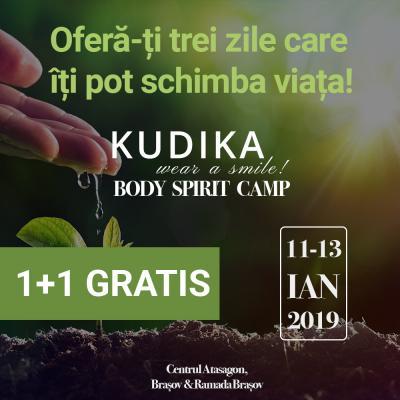 Tabăra Kudika Body&Spirit - Învață să te iubești!