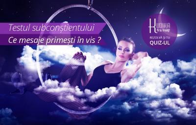 Testul subconstientului: Ce mesaje primesti in vis?
