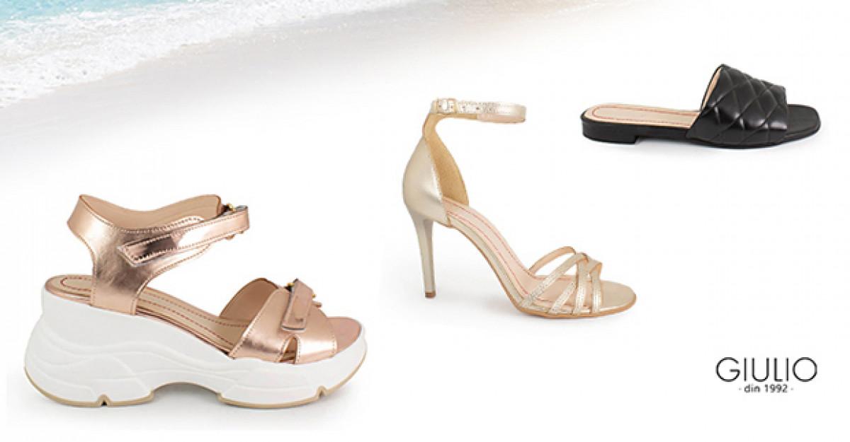 Sandale damă de purtat zi de zi cu zâmbetul pe buze