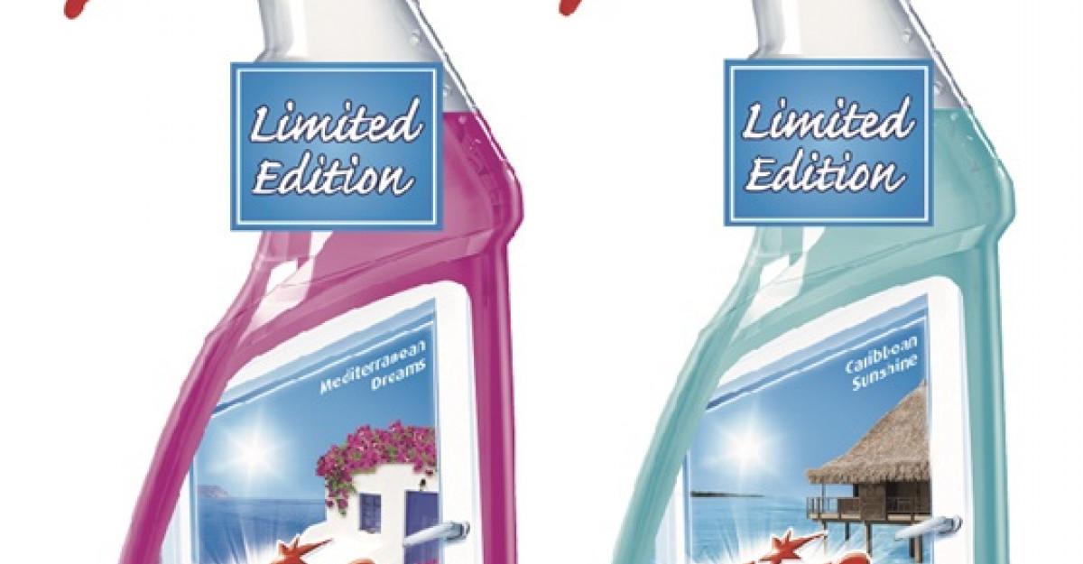 Noul Clin in editie limitata de vara deschide ferestre catre destinatiile lumii