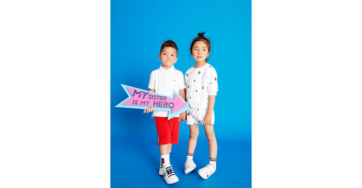 Tommy Hilfinger anunta campania Kids Primavara 2019
