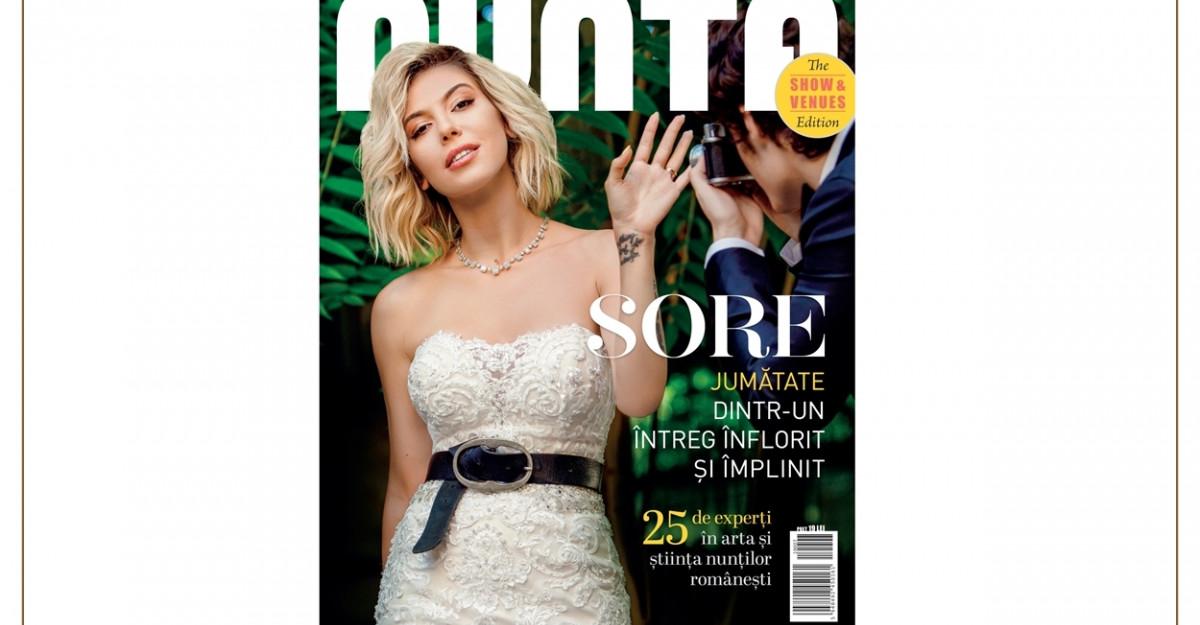 Revista NUNTA - The SHOW & VENUES Edition este disponibila pe piata