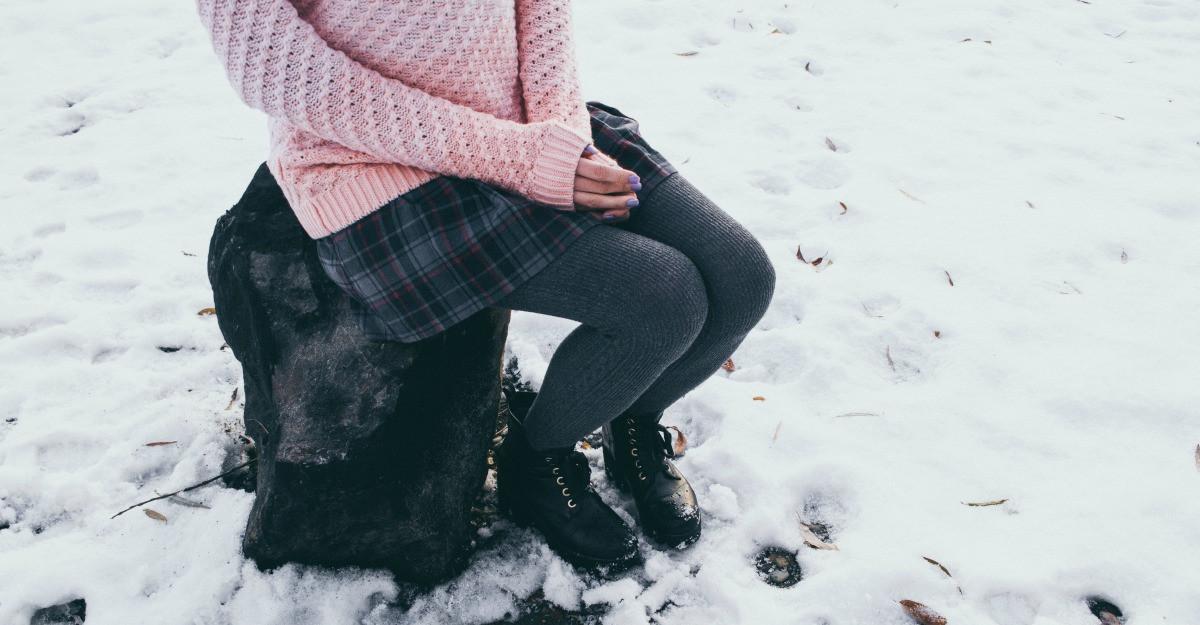 Ce fuste lungi si calduroase purtam in zilele reci