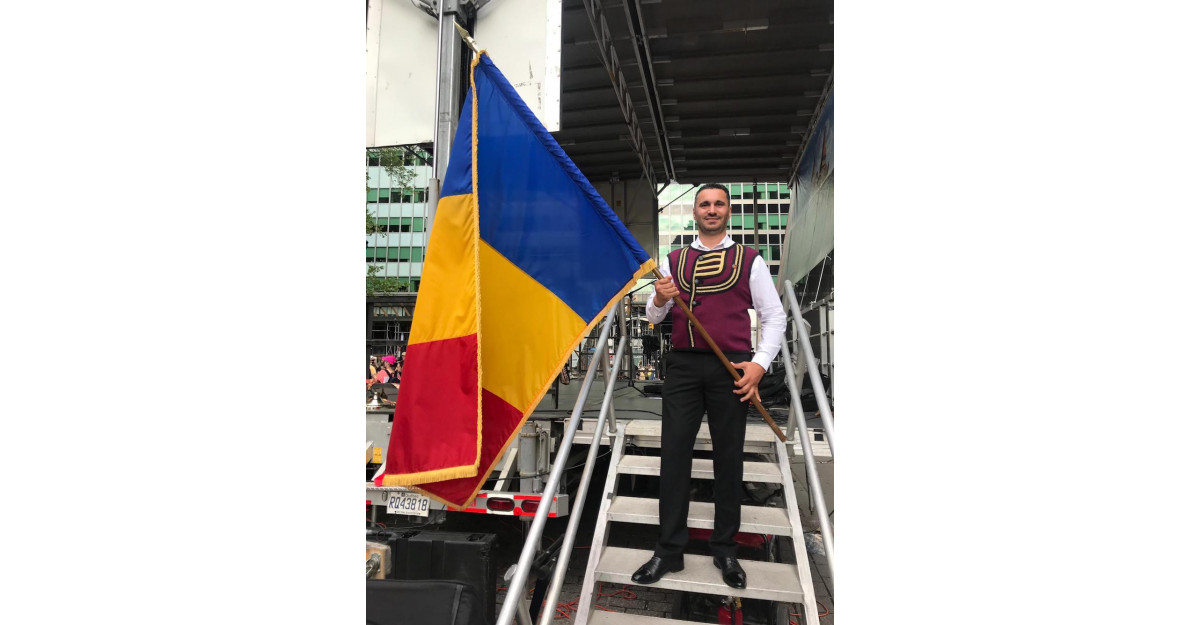 "Stelian Arău la ""Festivalul Romania Day on Broadway"" din NY"