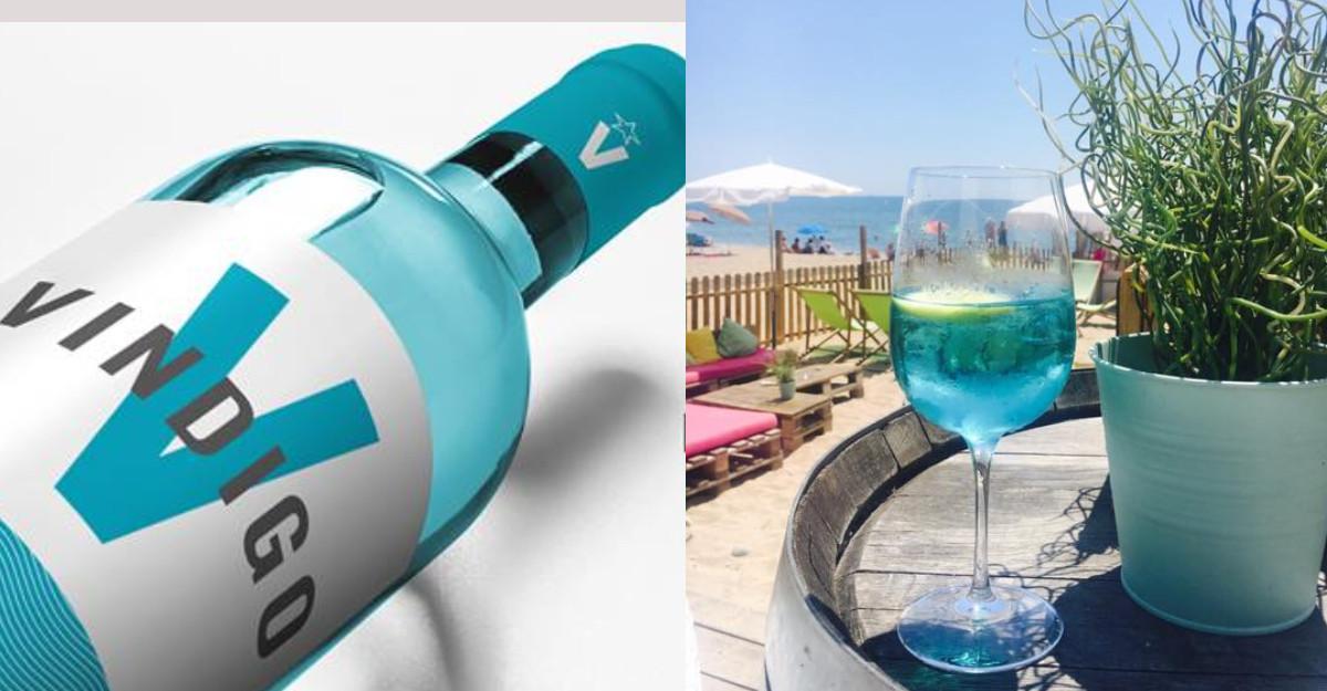 Bleu turcoaz spectaculos: a patra culoare a vinului există și e naturală
