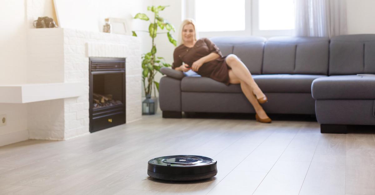 Robot de curățenie: o casă lună în doar câteva minute!