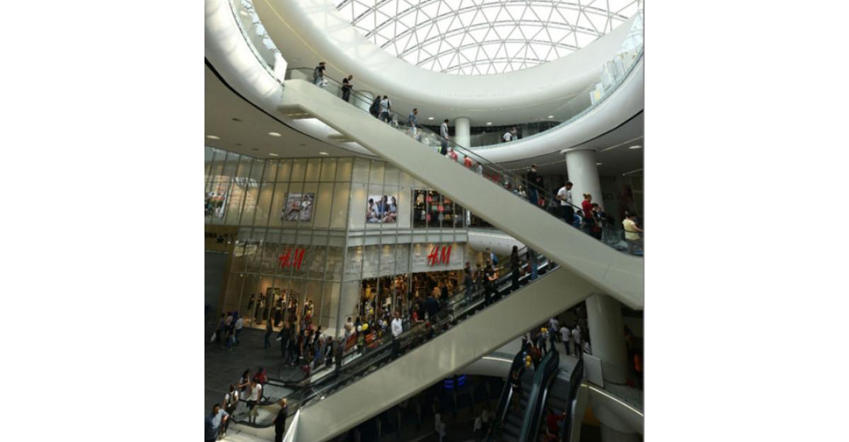 Centrul comercial Mega Mall si-a deschis portile
