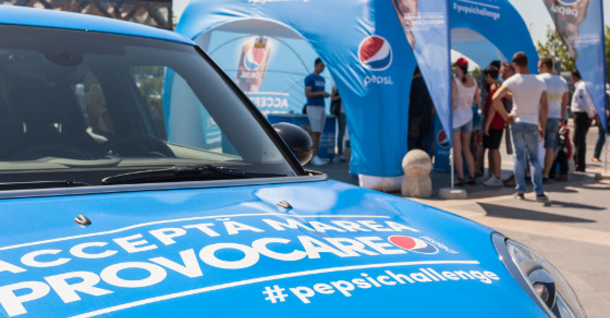 Pepsi este gustul nr. 1 in Romania