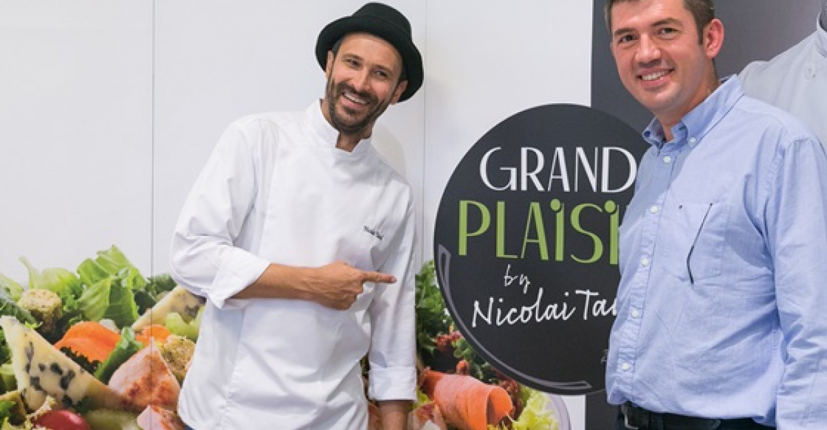 Grand Plaisir la McDonald's, noua salata frantuzeasca semnata de Chef Nicolai Tand