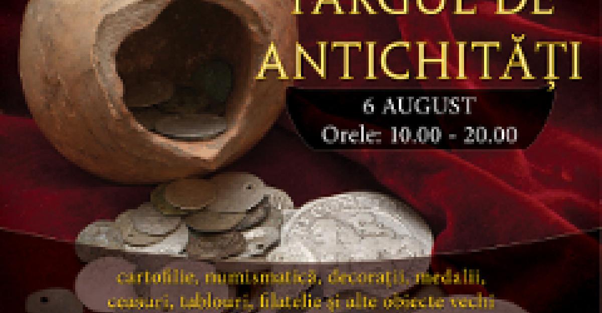 Bijuterii, ceasuri si monezi la Targul de Antichitati