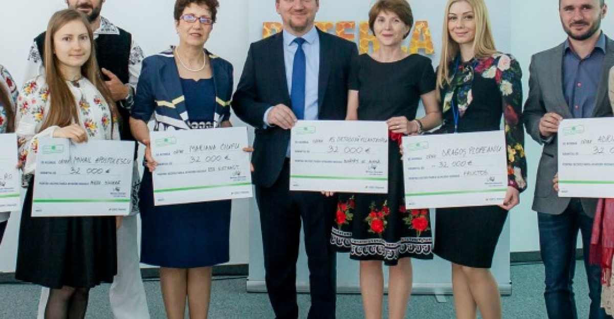 OMV Petrom creeaza 10 afaceri sociale prin programul Fabricat in Tara lui Andrei