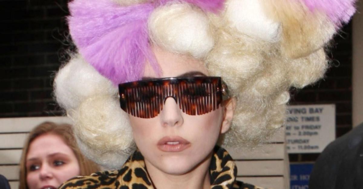 Top 10 aparitii smintite marca Lady Gaga