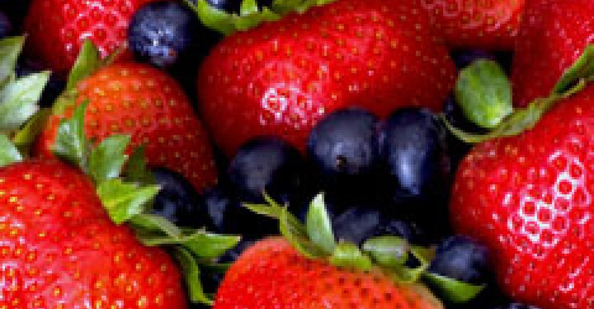 Secret de intinerire: acai berry