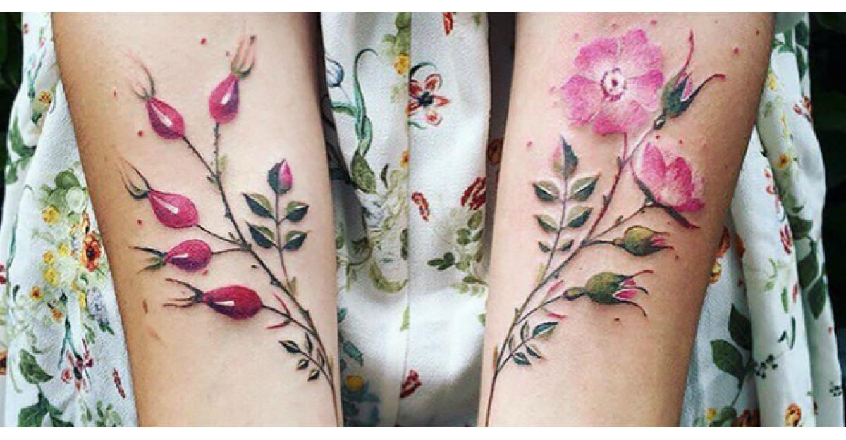 Cele mai frumoase tatuaje inspirate din natura
