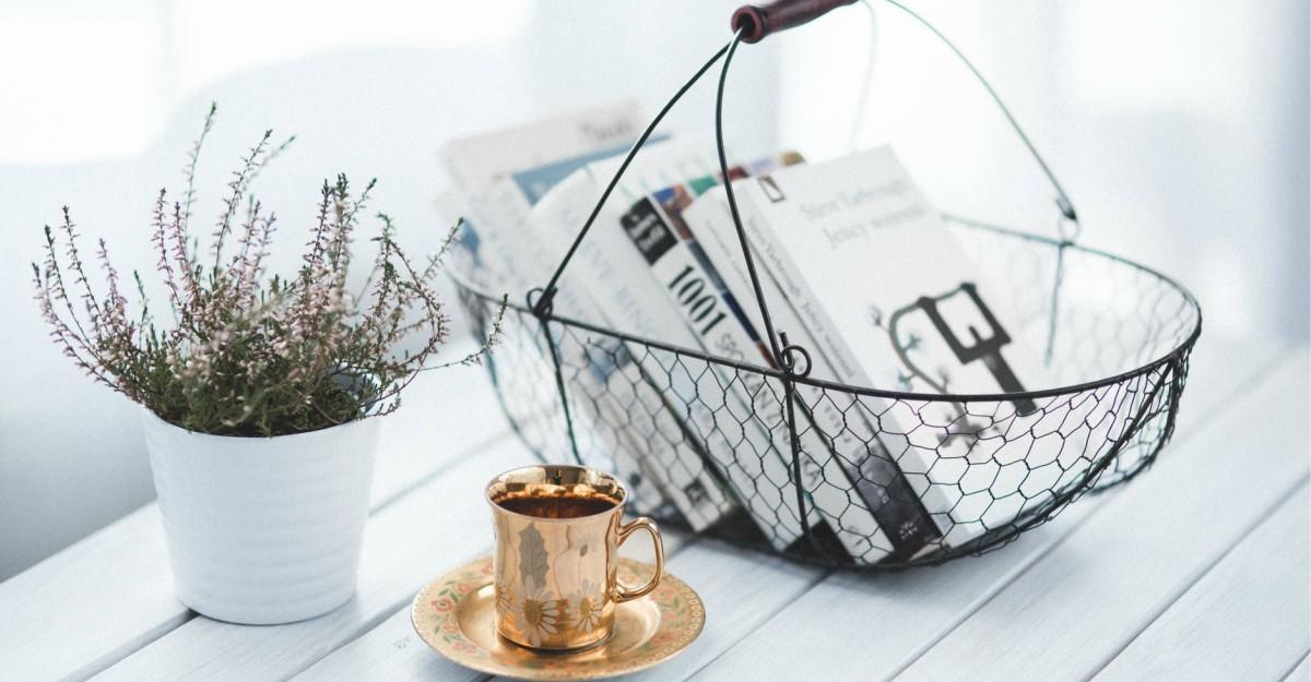 12 obiecte utile și decorațiuni drăgălașe pentru colțul tău de lectură