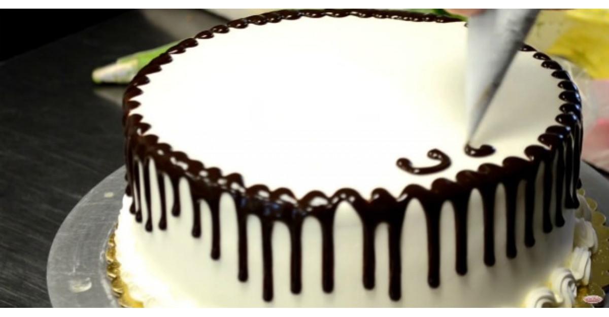 Cum sa decorezi un tort in mai putin de doua minute?