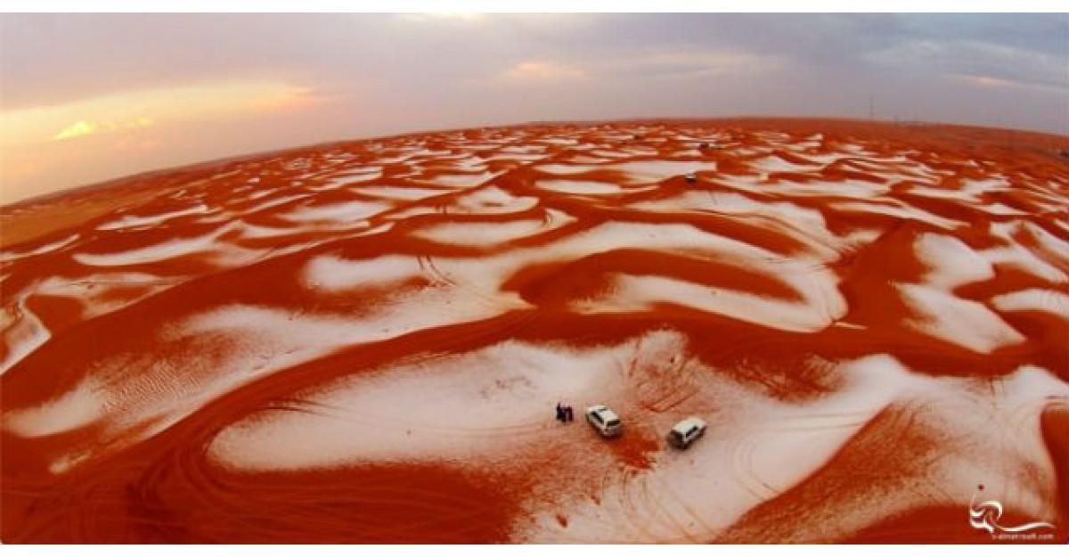 Foto: A nins in desert. Imagini SPECTACULOASE care iti taie respiratia