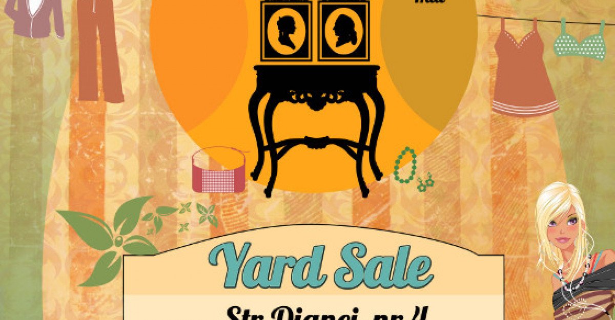 YARD SALE in weekend!
