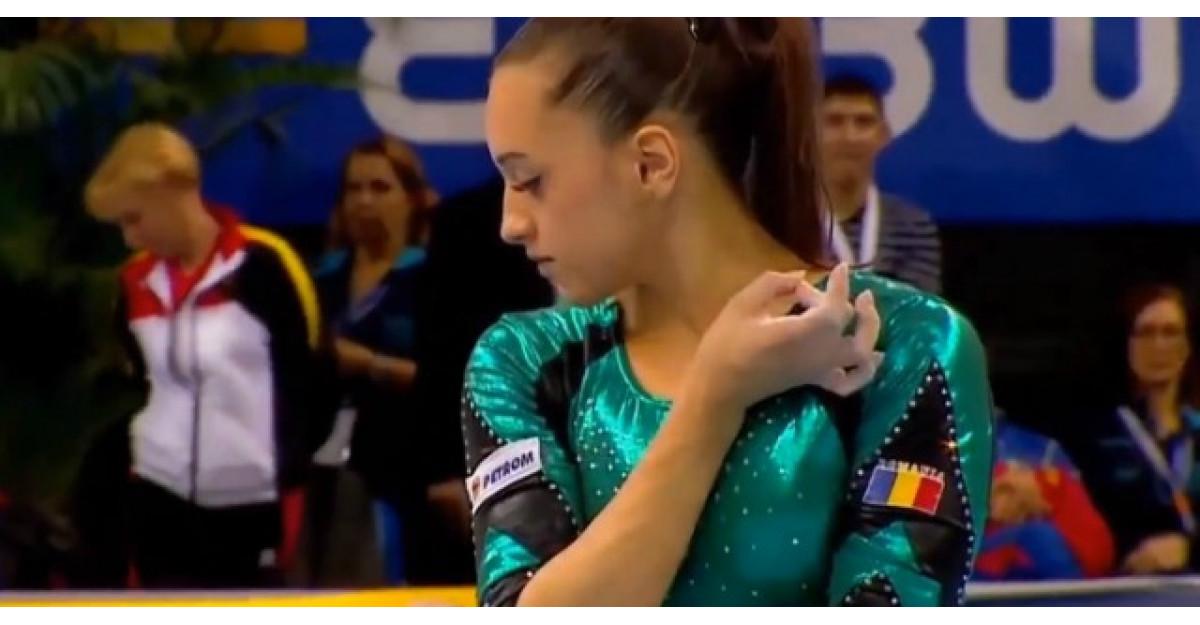 Acest clip cu gimnasta Larisa Iordache iti va face pielea de gaina