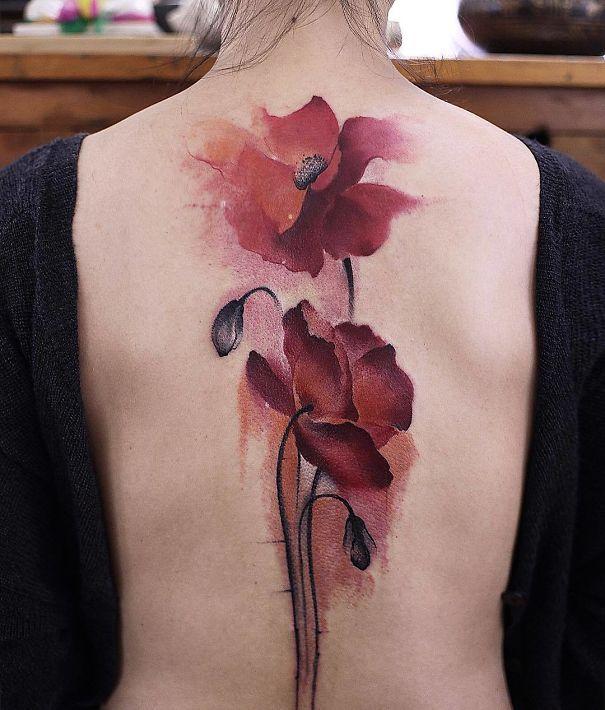 Detalii florale minunate