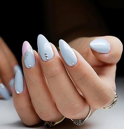 Bleu and pink