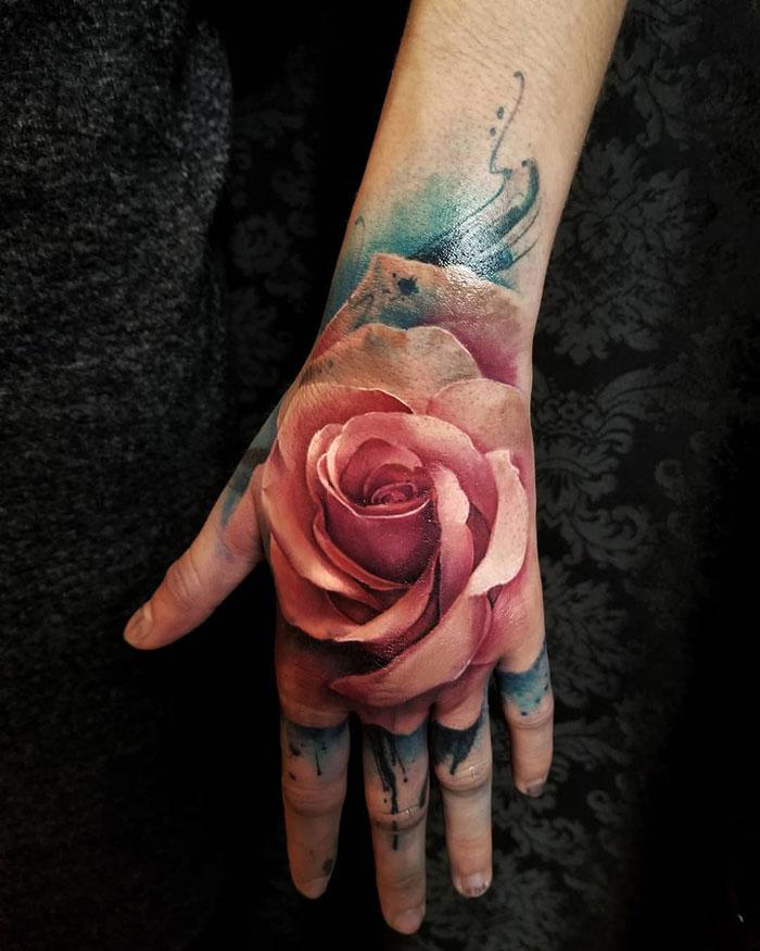 Trandafir 3D