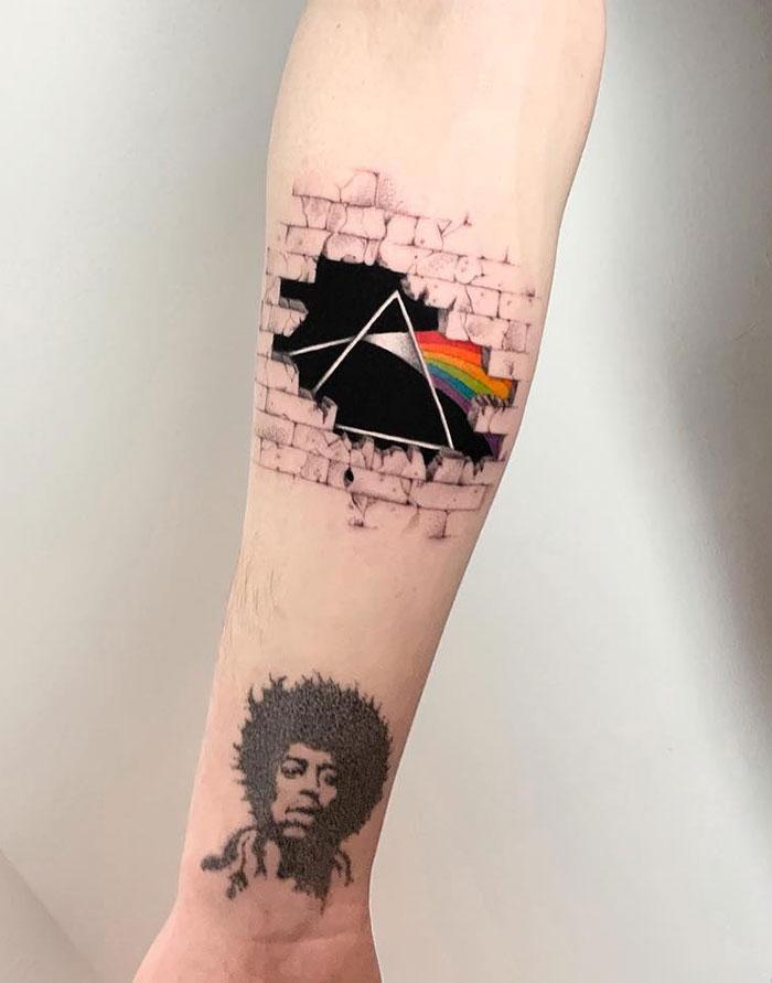 Inspiratie Pink Floyd