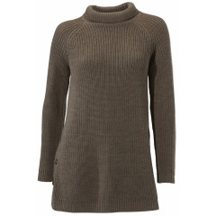 Pulover tricotat cu guler