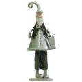 Decoratiuni Craciun Metal Santa