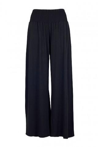 Pantaloni negri evazati model SN