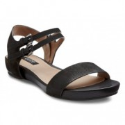 Sandale negre comode piele naturala ECCO Rungsted