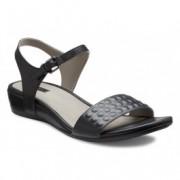 Sandale clasice dama piele ECCO Touch 25 S (negre)
