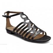 Sandale dama in stil roman ECCO Rudny (negre)