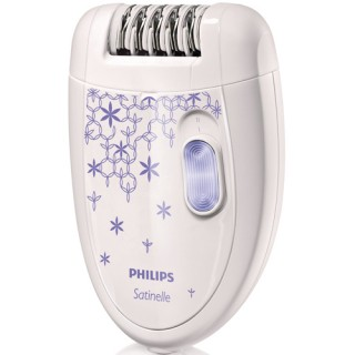 Epilator Philips HP6421/00, 2 viteze, (Alb)