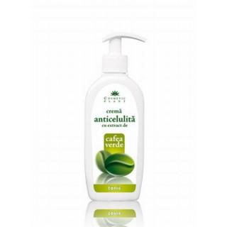 Cosmetic plant crema anticelulita forte cafea verde 250 ml flacon cosmetic plant