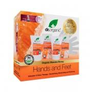Dr organic - miere manuka - set hands and feet pachet  dr organic