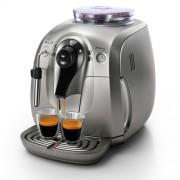 Espressor cafea Philips Saeco Xsmall Chrome HD8747/09, Putere 1400W, Rezervor 1 litru, Capacitate boabe 180 grame (Argintiu)