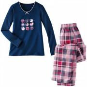 Pijama din tesatura si catifea femei