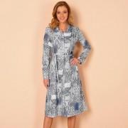 Rochie imprimata cu curea