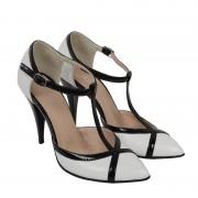Pantofi din piele naturala Valery