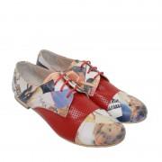 Pantofi Oxford din piele naturala RiRi