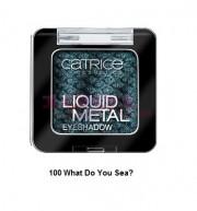 CATRICE LIQUID METAL EYESHADOW FARD DE PLEOAPE METALIC WHAT DO YOU SEA 100