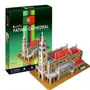 Cubicfun Puzzle 3D Catedrala Fatima, 47 piese