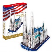 Cubicfun Puzzle 3D Catedrala Sfantul Patrick, 117 piese
